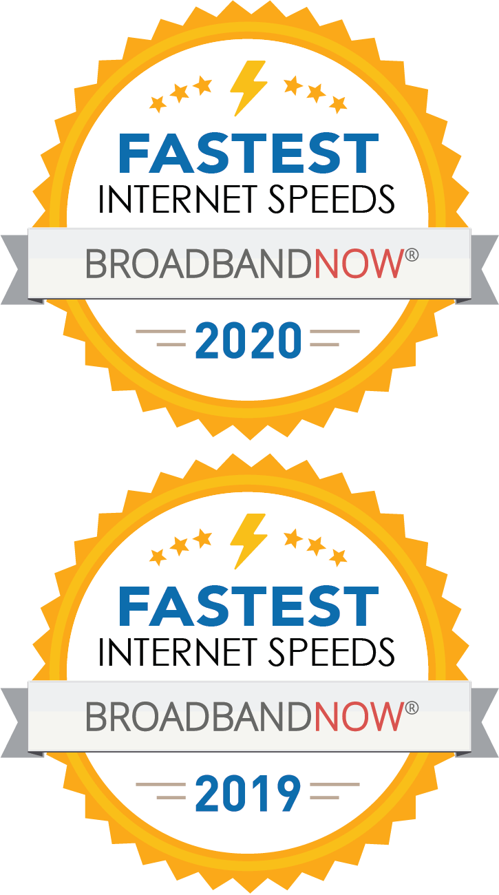 Broadband Now-2019 and 2020 Fastest Internet Speeds Awards